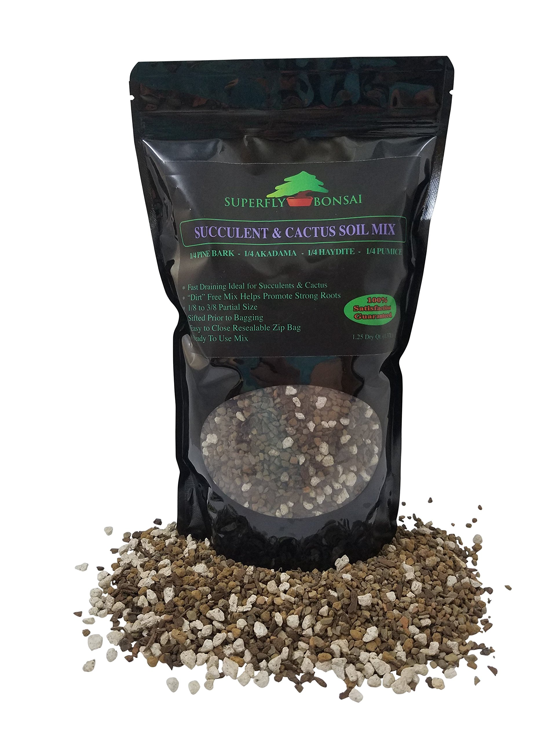 Succulent & Cactus Soil Mix - Pre-Mixed Fast Draining Blend