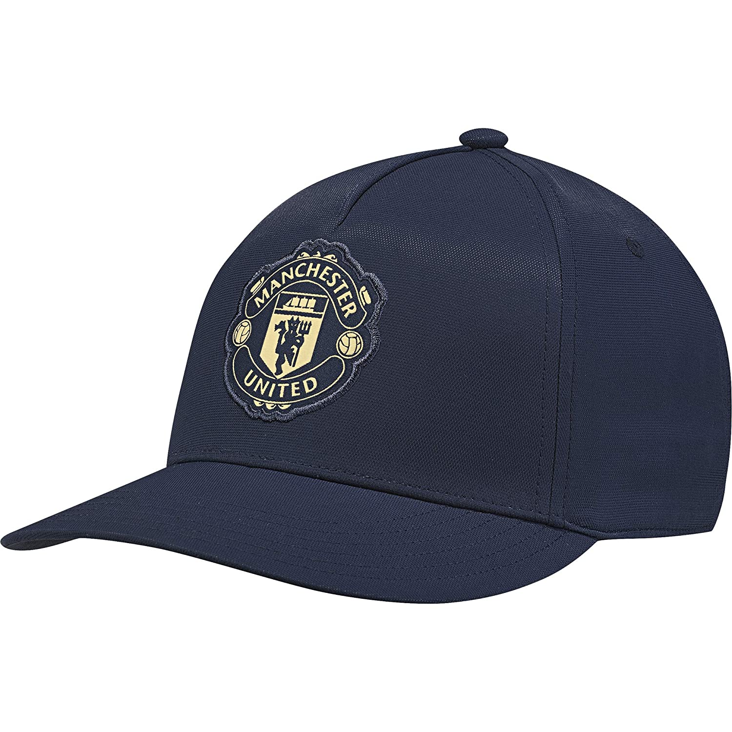 ef4fcaa18ce8e8 Amazon.com   adidas 2018-2019 Man Utd CW S16 Cap (Blue)   Sports   Outdoors