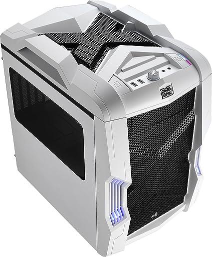 Aerocool STRIKEXCUBEWH - Caja gaming para PC (ATX, ventilador con ...