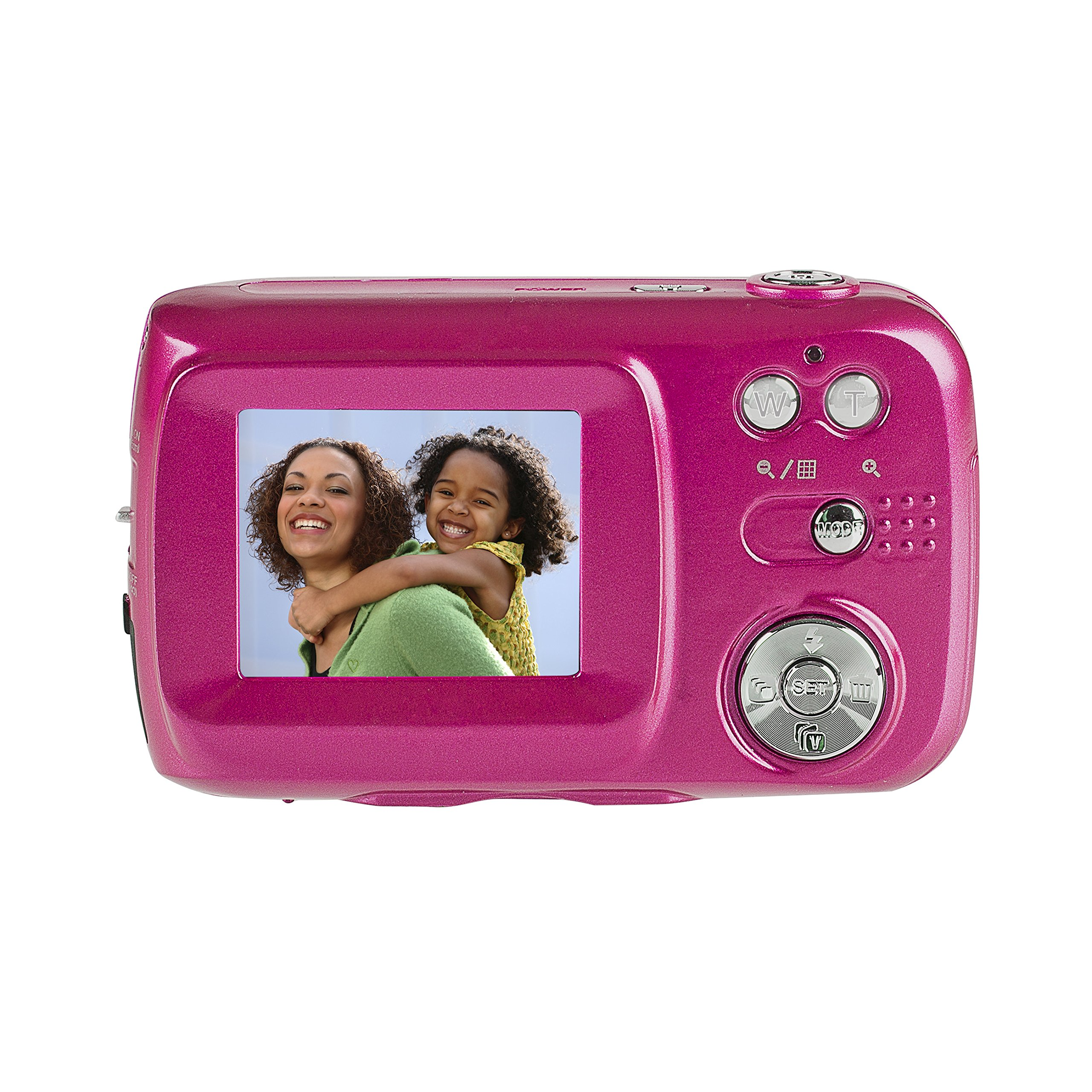 Vivitar VF128-PNK 16.1MP HD Digital Camera with 2.7-Inch LCD Touchscreen, Colors/Styles May Vary by Vivitar