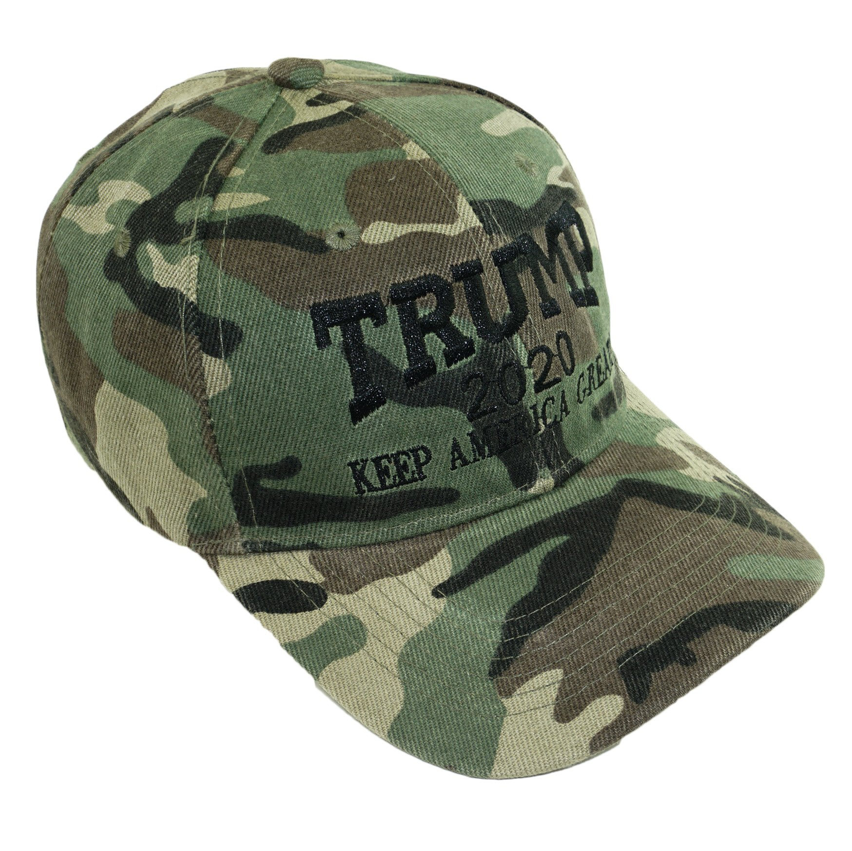 d6fa5ecc2f58a Bingoo Trump 2020 Keep America Great Embrodiery Campaign Hat USA Baseball  Cap (Camo 02)