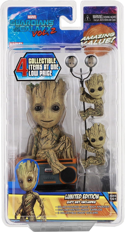 Guardianes de la Galaxia Vol. 2 Pack Groot Limited Edition Neca ...