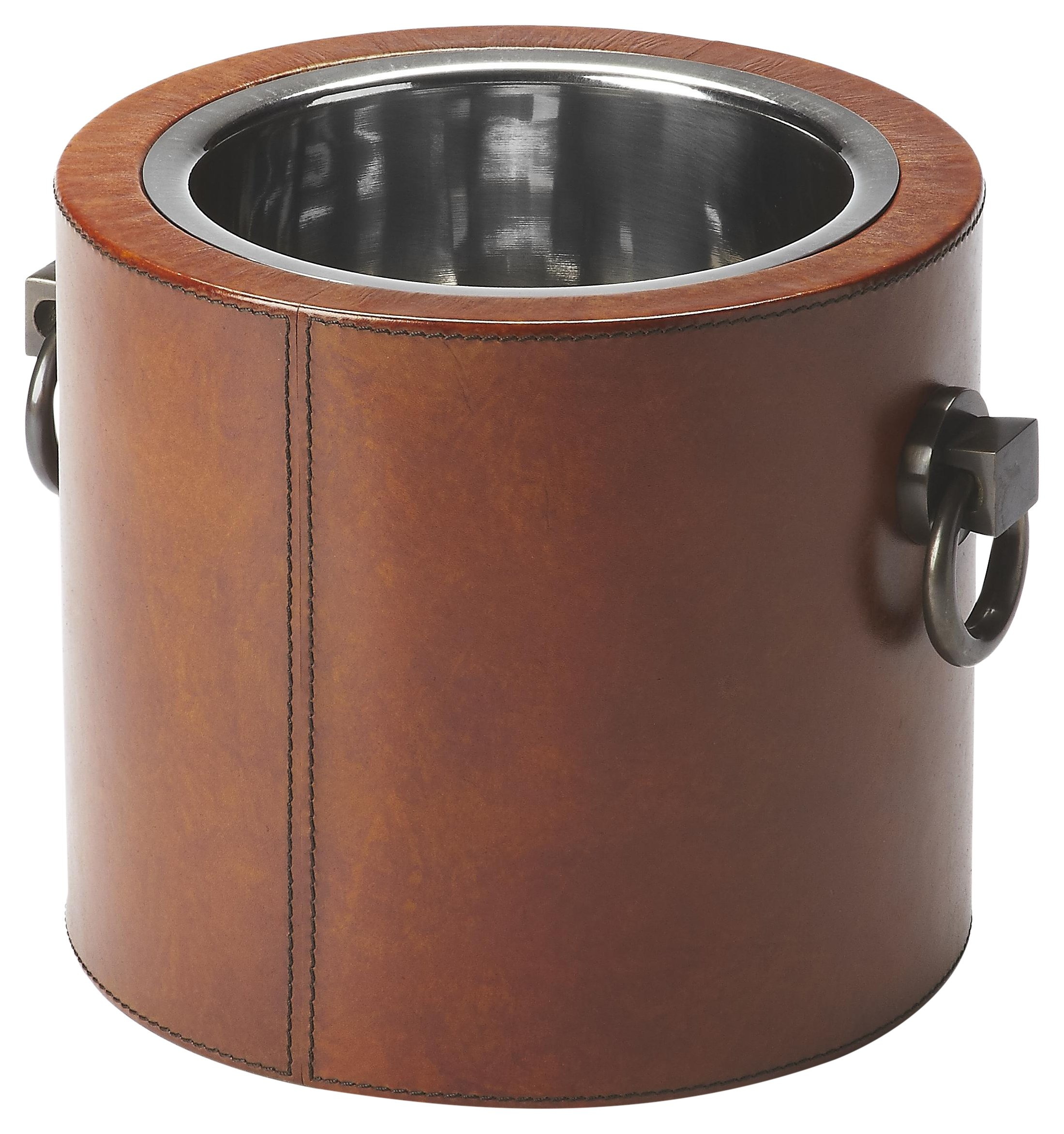 Butler Specialty Company 3576016 Wine Cooler Leather, Brown