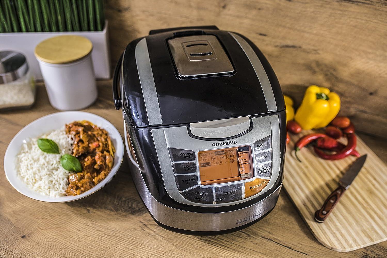 Robot de cocina - Redmond Multicooker M4502E Potencia 860W, Capacidad de 5L, 34 funciones: Amazon.es: Hogar