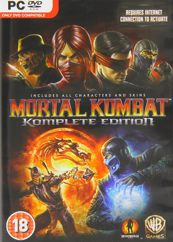 Mortal Kombat 9 (PC DVD): Amazon co uk: PC & Video Games