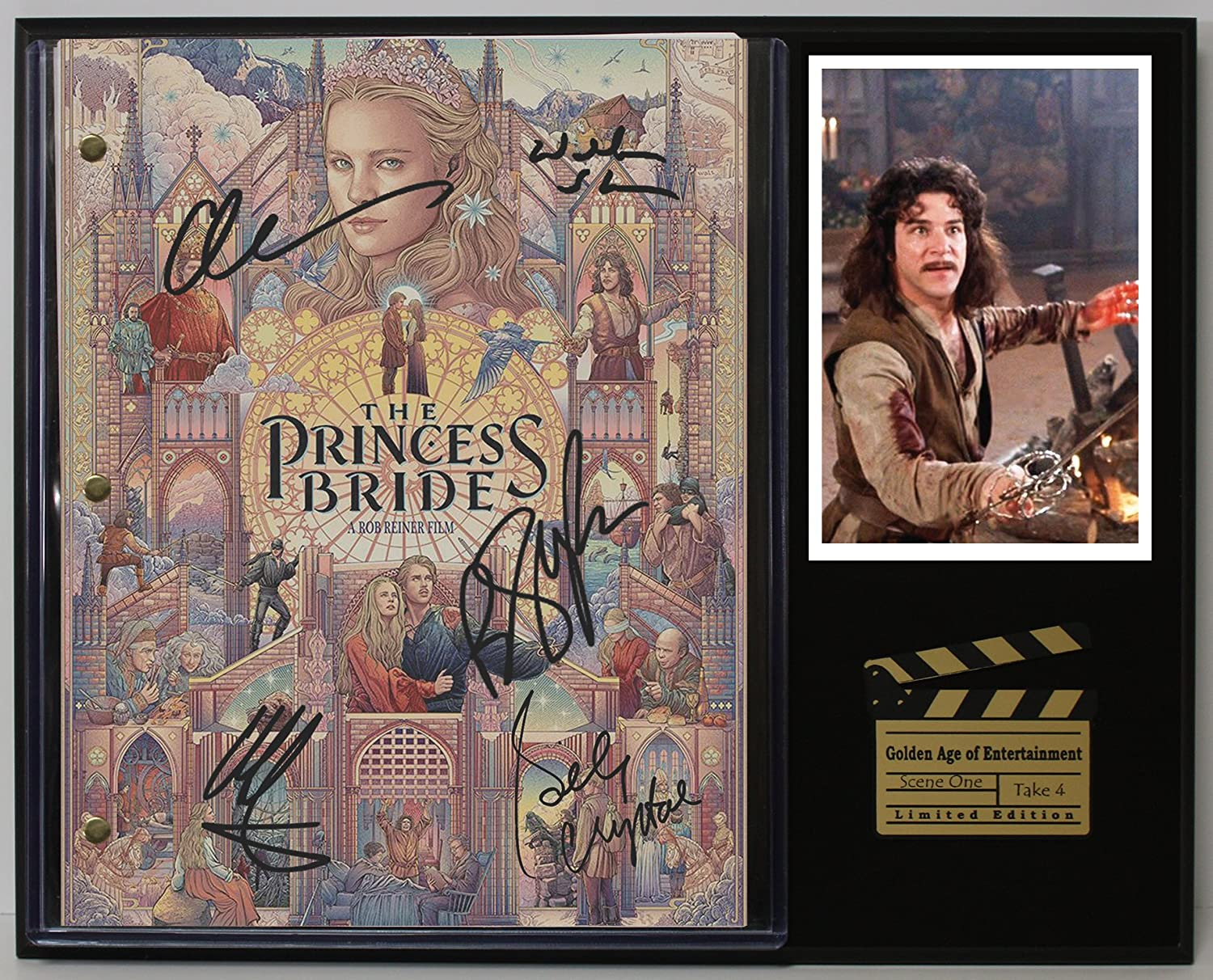 The Princess Bride Ltd Edition Reproduction Movie Script Cinema Display C3