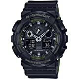 G-Shock GA-100 Military Series Watches - Black/One Size