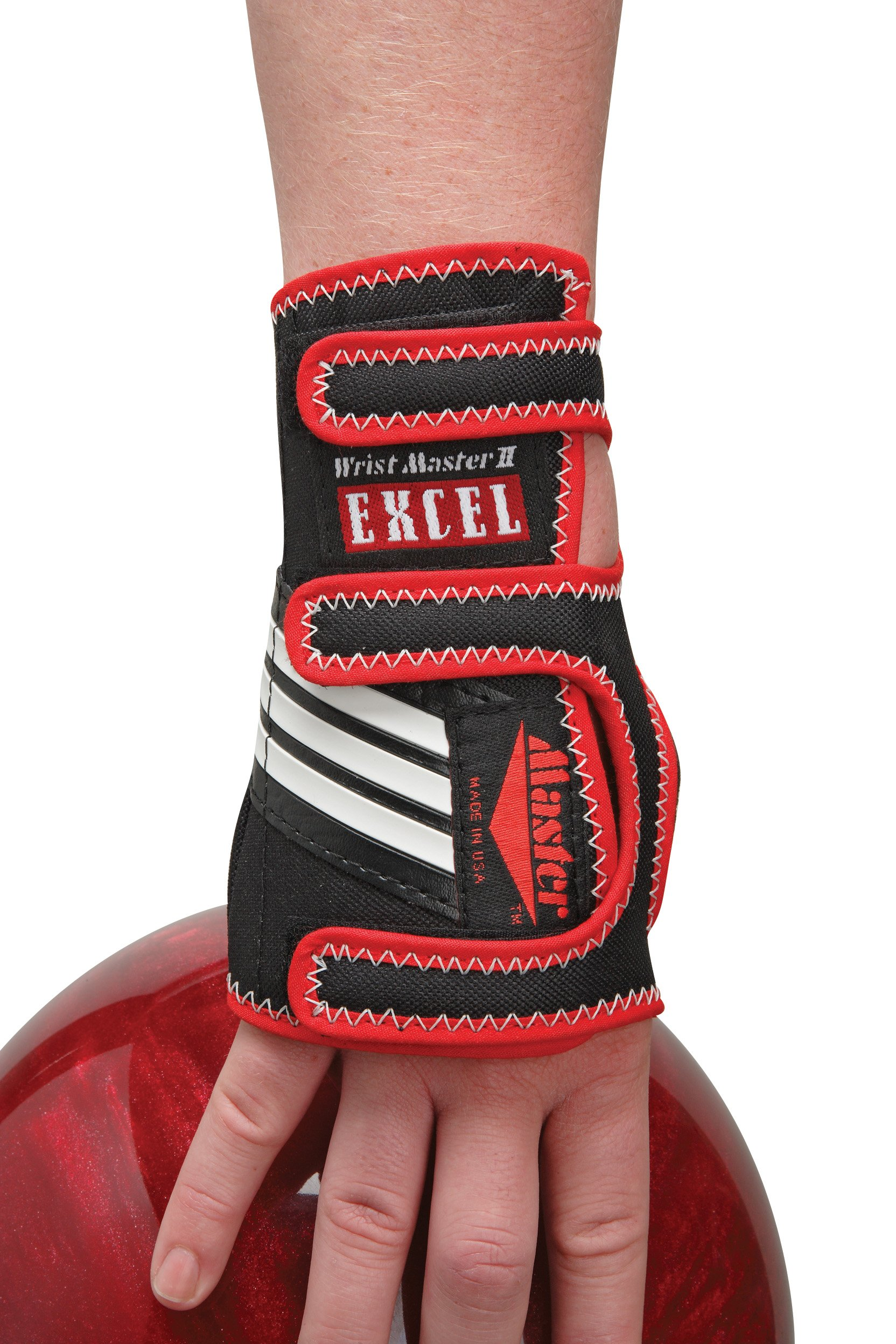 Master Industries Wrist Master II Excel Bowling Gloves, Small, Right Hand