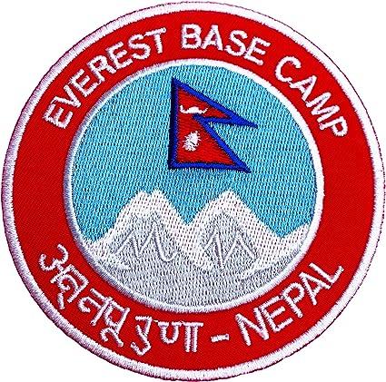 Monte Everest Nepal Base Camp parche 9 cm bordado escudo del ...