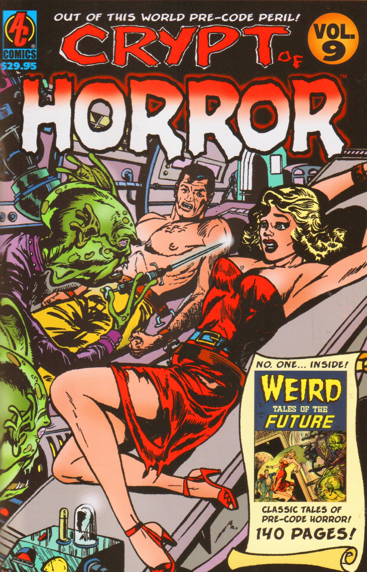 Download CRYPT OF HORROR Vol 9 Weird Tales Of The Future! Pre-code Horror Comics (Volume 9) pdf