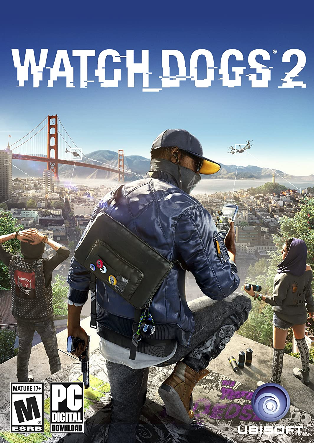 Amazon Com Watch Dogs 2 Online Game Code Video Games