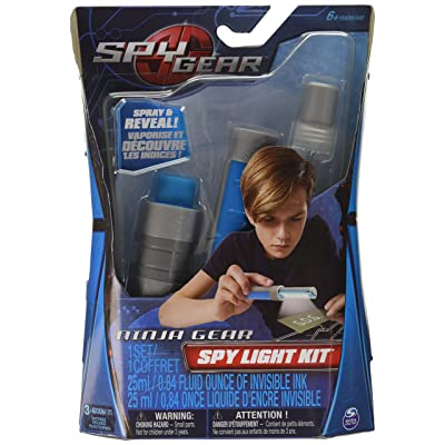 Spy Gear Spy Gear UV Gear Kit: Toys & Games
