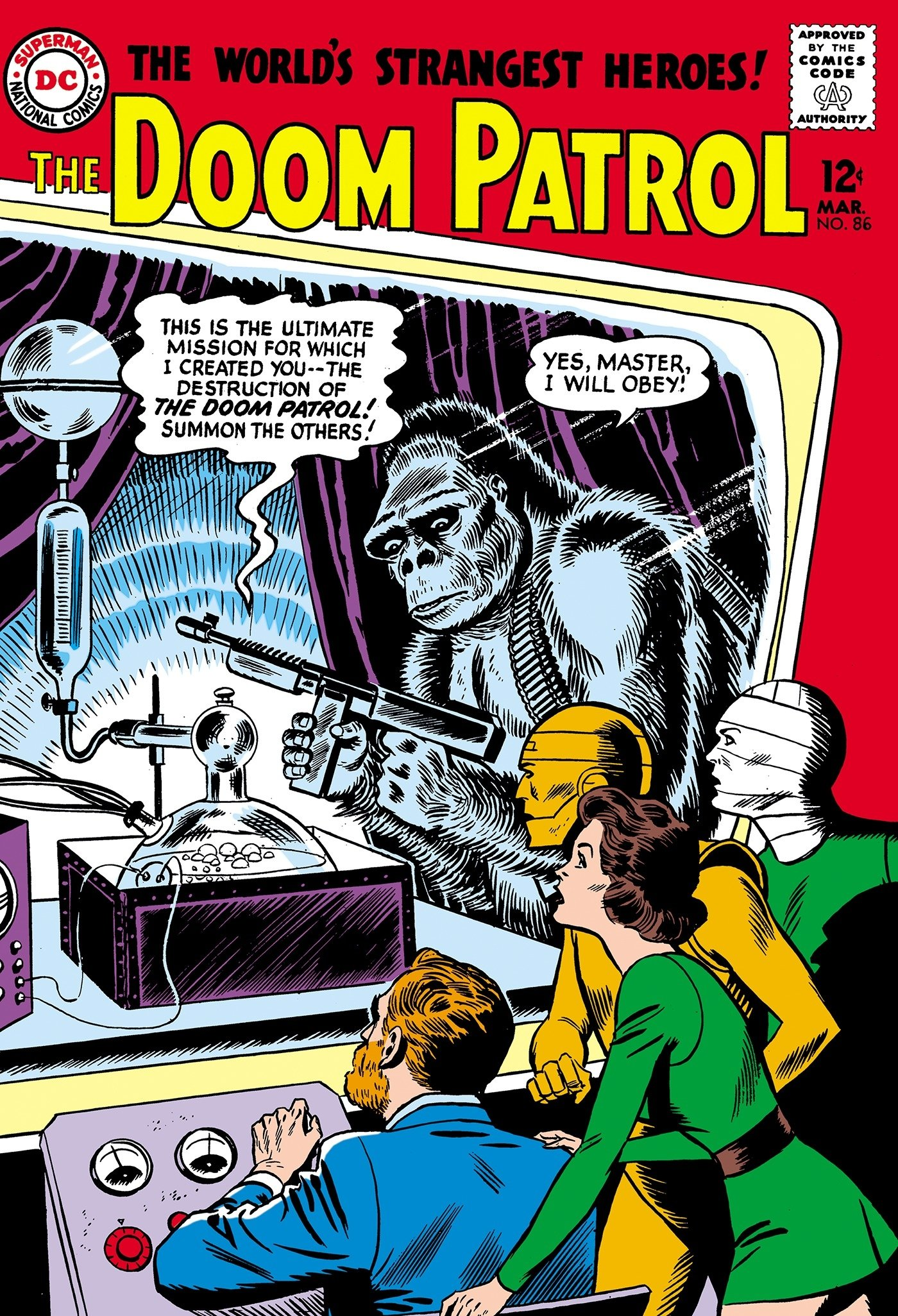 Amazon Com Doom Patrol The Silver Age Vol 1 9781401281113