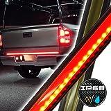 "OLS 60"" COMPACT LED Truck Tailgate Light Bar Strip - Reverse/Turn Signal/Running/Brake Light Full Function Tail Signal - Durably Weatherproof"
