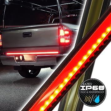 Amazon ols 60 compact led truck tailgate light bar strip ols 60quot compact led truck tailgate light bar strip reverseturn signal aloadofball Images