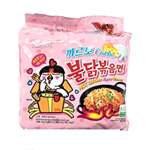 Samyang Carbo Spicy Chicken Fried Noodles