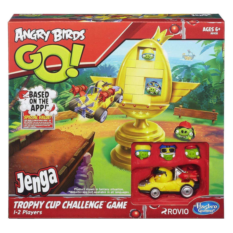 Amazon Angry Birds Go Jenga Trophy Cup Challenge Game Toys Games