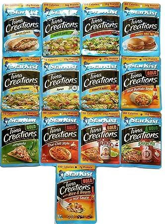 Amazon.com : Starkist Tuna - Variety Pack of 13 Flavors ...