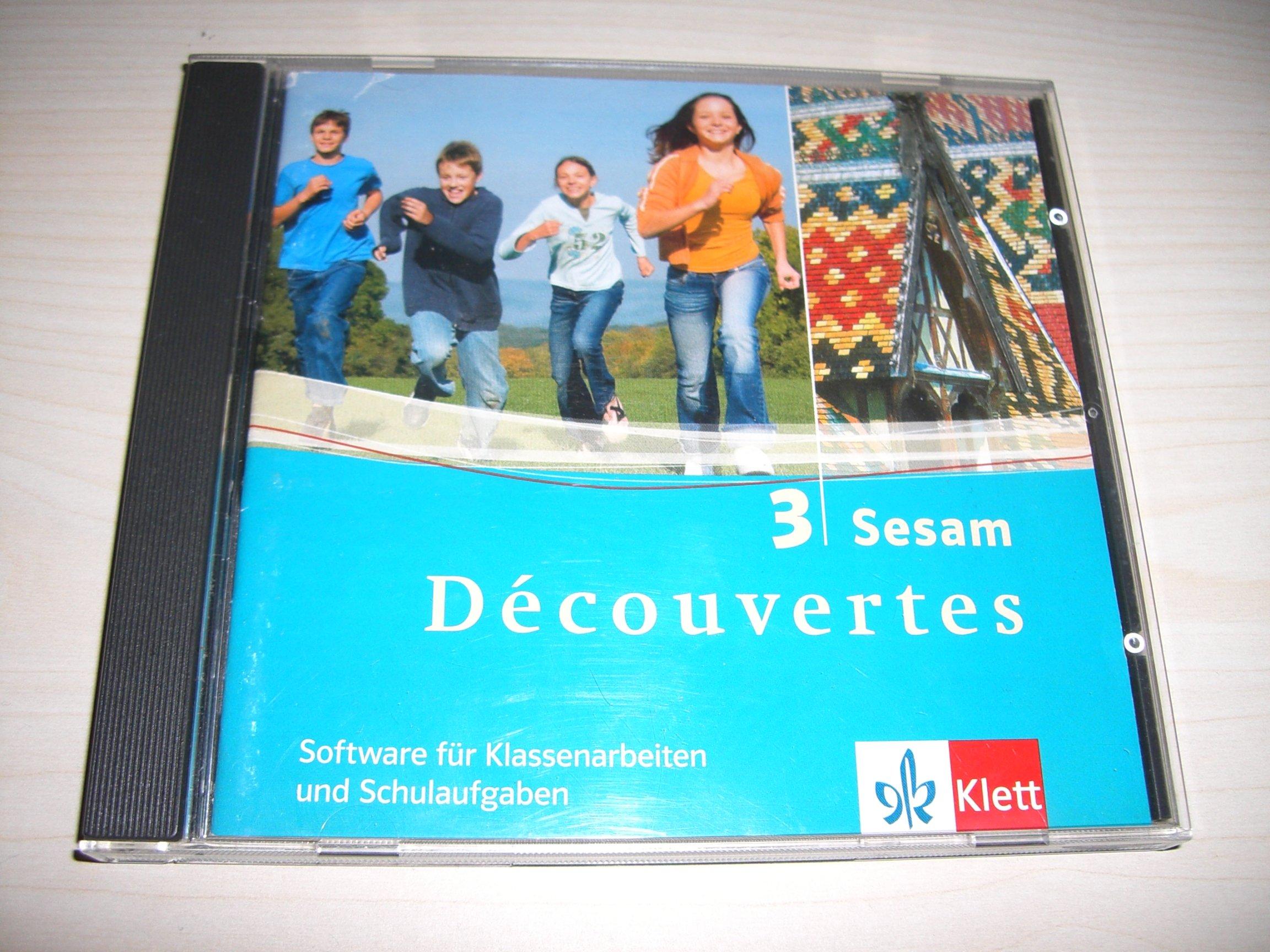 Découvertes, Bd 3: Sesam - Software zur individuellen Erstellung von Klassenarbeiten