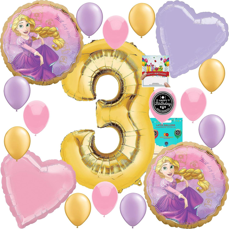 "Disney Tangled Princess Rapunzel 12/"" Latex Balloons Party Supplies 24ct"