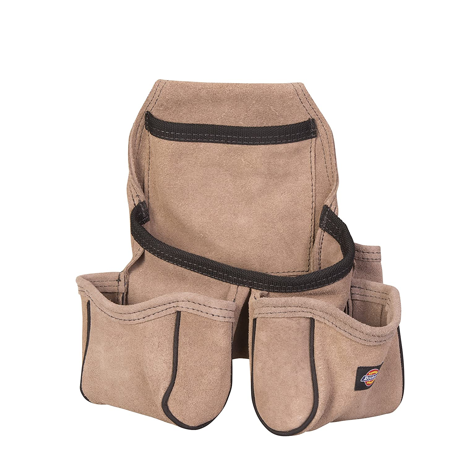 Dickies Work Gear 57029 4 Pocket Leather Tool Pouch