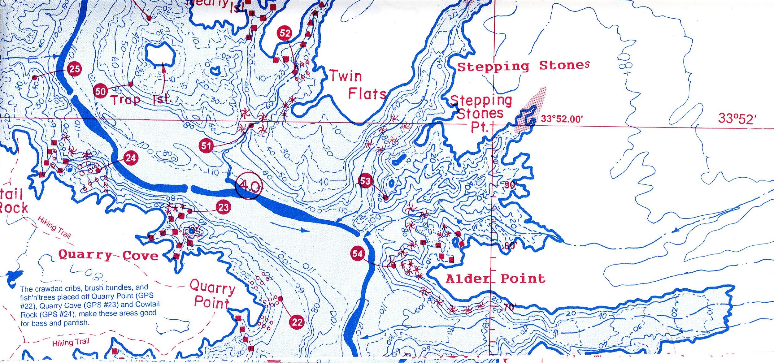 Bartlett & Horseshoe Reservoirs: Fish n Map Company: Amazon.com: Books