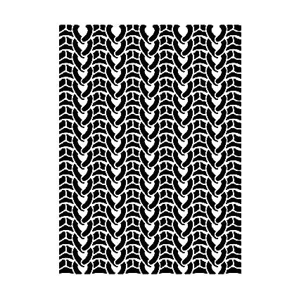 Amazon Darice Knit Sweater Embossing Folder 30032548 Kitchen