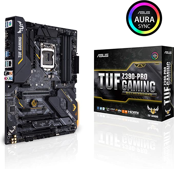 Amazon.com: ASUS TUF Z390-Pro Gaming LGA1151 (Intel 8th y ...