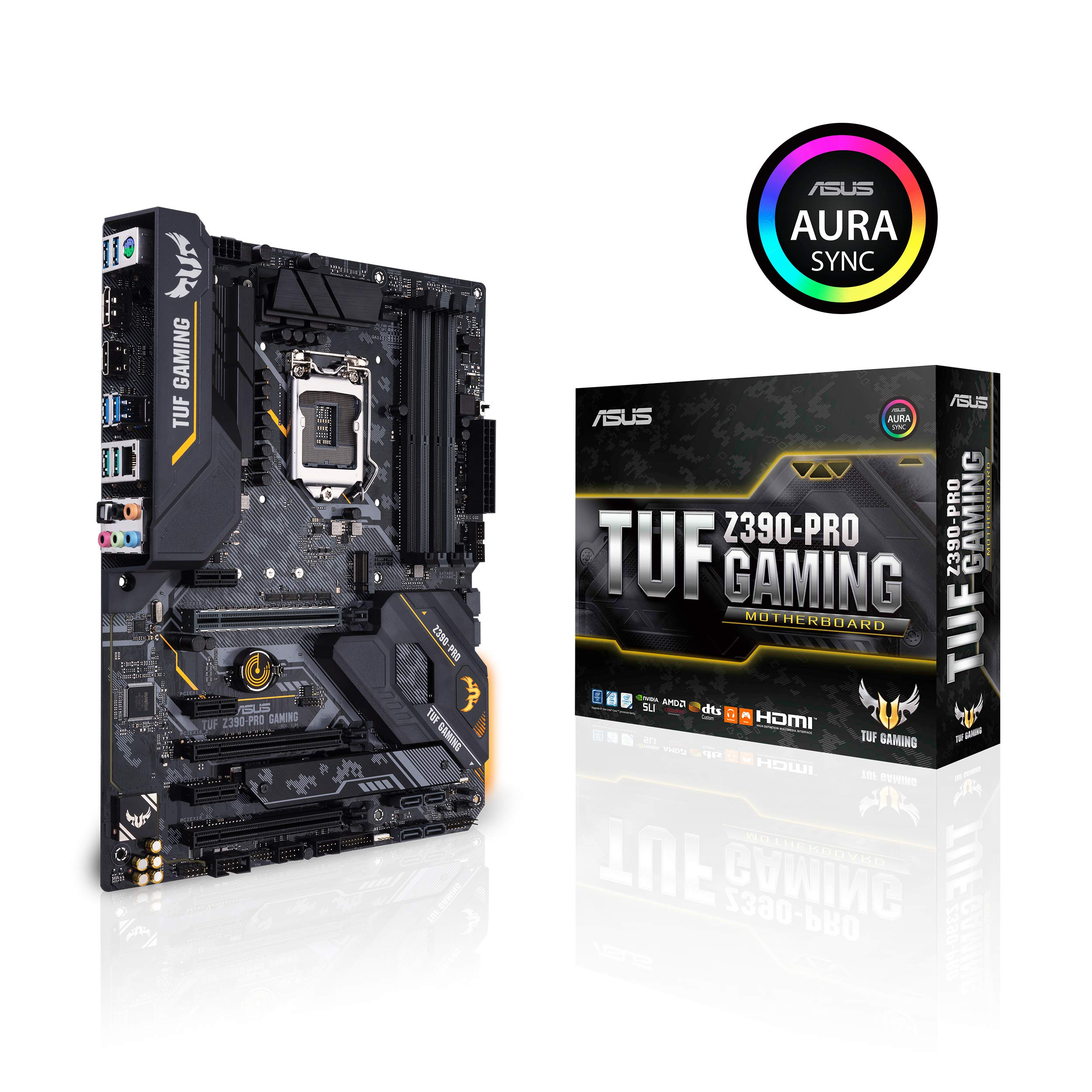 ASUS TUF Z390-Pro Gaming LGA1151 (Intel 8th and 9th Gen) ...