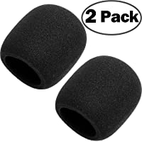 ChromLives Microphone Cover Microphone Windscreen Foam Cover for Blue Yeti, Yeti Pro Condenser Microphone