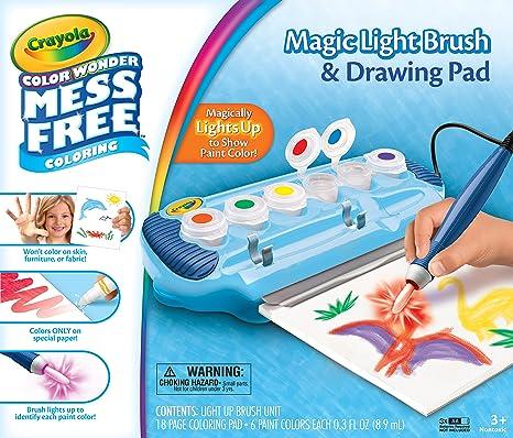 Color Wonder Magic Light Brush Deluxe Kit Crayola 75-2463
