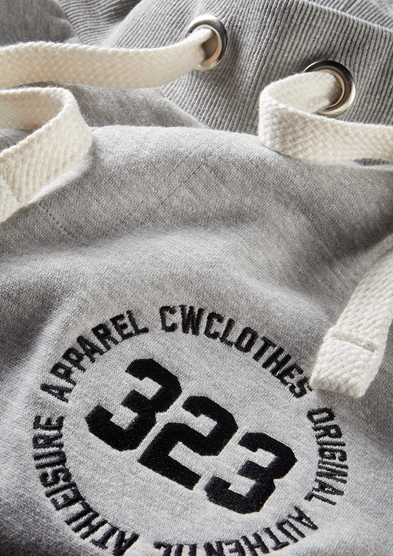9593cab289c10 Charles Wilson Collection Essentiel Short Jogging Homme en Jersey avec Logo:  Amazon.fr: Vêtements et accessoires
