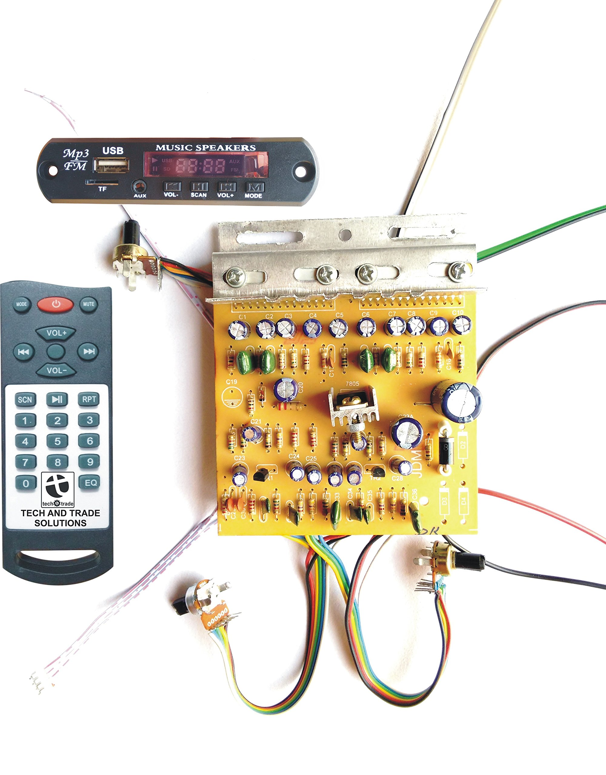 Small Audio Lifier Circuit Uv Block Schematic Diagram Tv 43 Bar Type Booster Amplifier Board Kit Buy Online At Best Prices