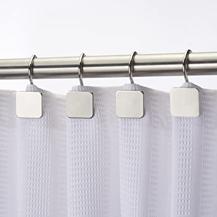 Amazon Hermosa Collection Luxury Hotel Shower Curtain Hooks