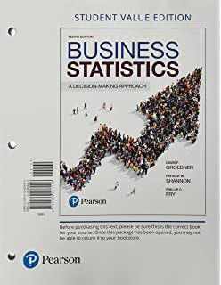 Amazon business statistics a decision making approach 10th business statistics a decision making approach student value edition 10th edition fandeluxe Images