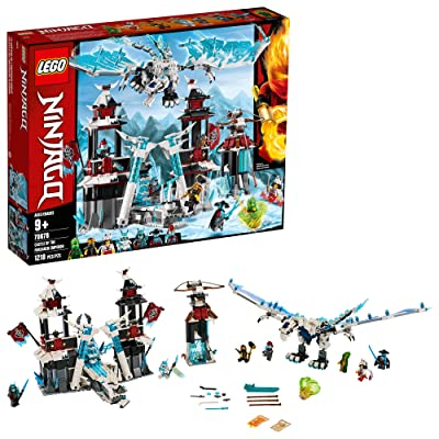 LEGO NINJAGO Castle of the Forsaken Emperor 70678 Building Kit (1,218 Pieces): Toys & Games
