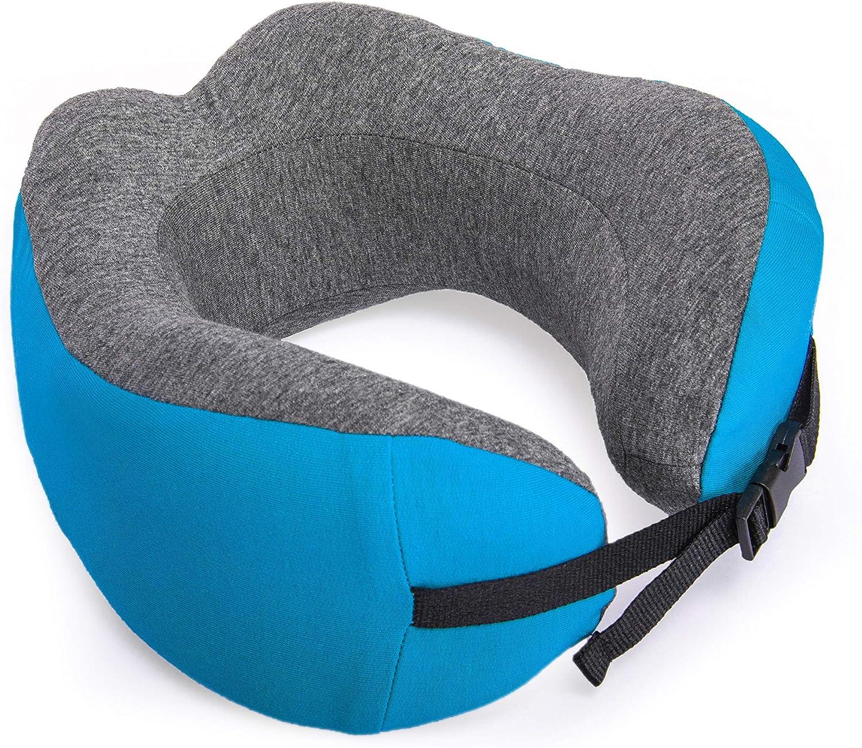 Verage Natura Nackenkissen Navy Blue mit Mikroperlen Mehrfarbig