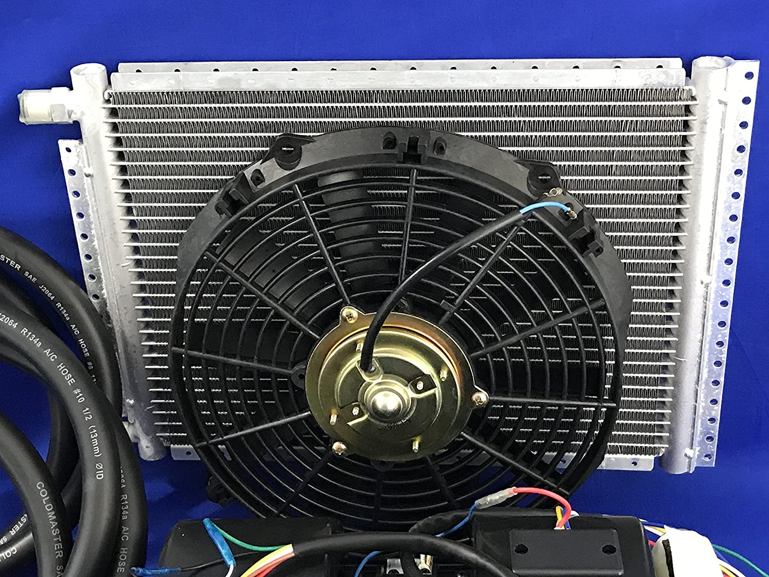 Car Air Conditioner Kit Universal Under Dash Evaporator Home Ac Condenser Fan Wiring And Compressor A C 432 7b10 Electronics