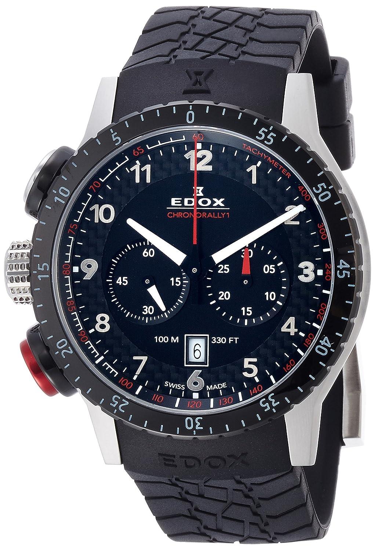 [エドックス]EDOX 腕時計 クロノラリー1 クォーツクロノグラフ 10305-3NR-NR メンズ 【正規輸入品】 B01M687DN9