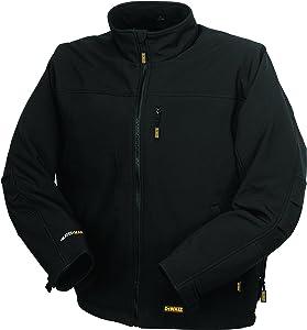 DEWALT DCHJ060ABB-S Heated Soft Shell Jacket, S, Black