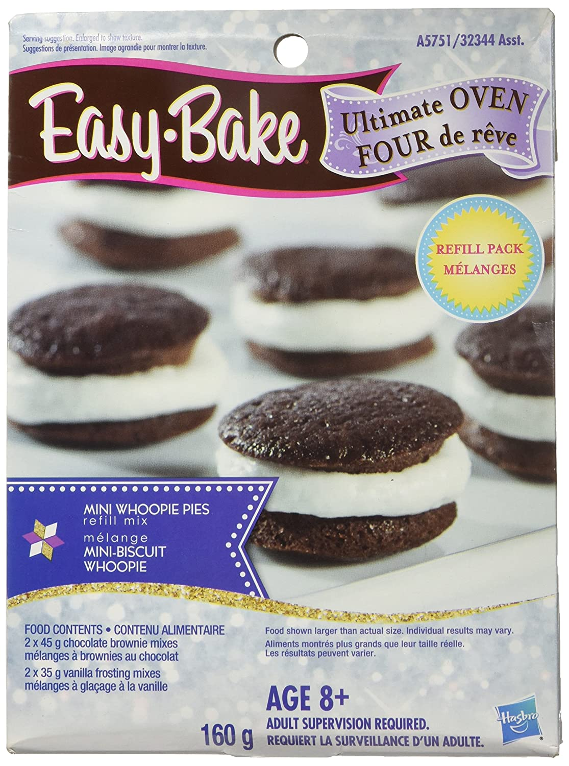 Easy-Bake Refill Mini Whoopie Pie Mix, Net Wt. 5.6 Oz.