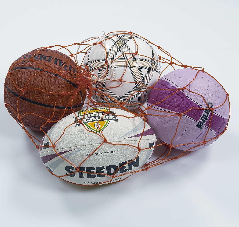マルチスポーツボールCarry Netのみ2個のパック B014YW33XK  6 Ball