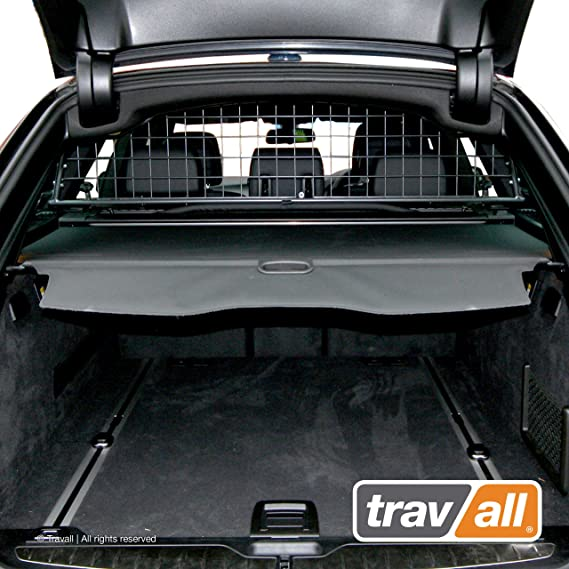 Travall Guard Hundegitter Kompatibel Mit Bmw 5er Touring Ohne Schiebedach F11 2010 2016 Tdg1332 Maßgeschneidertes Trenngitter In Original Qualität Haustier