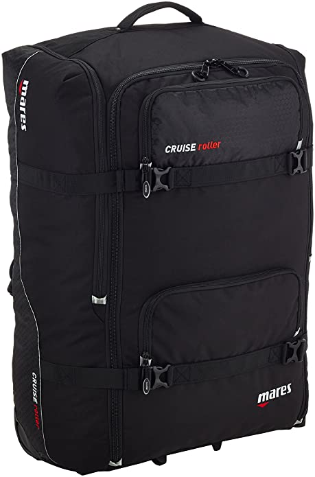 Mares Bag Cruise Back Pack Roller - Maleta, Color Negro, Talla Bx: Amazon.es: Zapatos y complementos