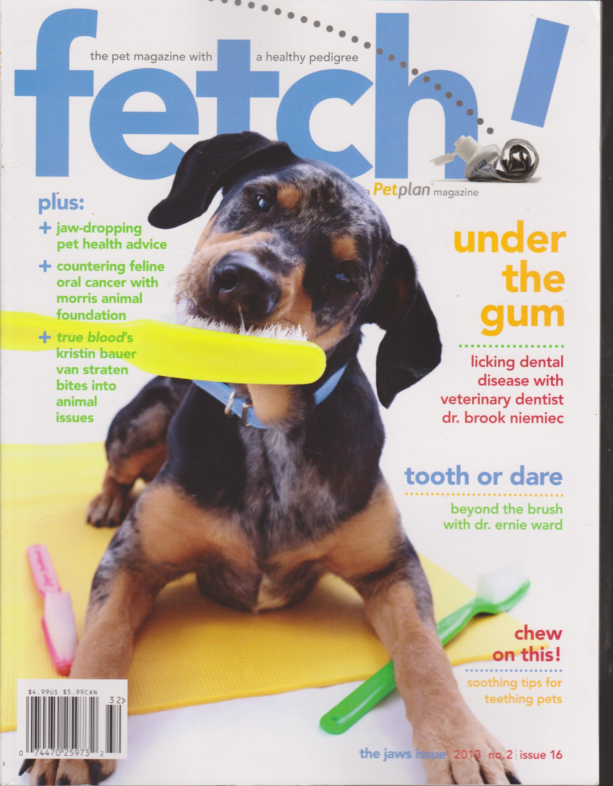 Fetch Magazine Number 2 Issue 16 2013 (The Jaws Issue) PDF