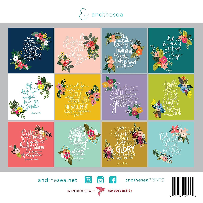 Amazon.com: Red Dove Design 2018 Christian Calendar with Floral ...