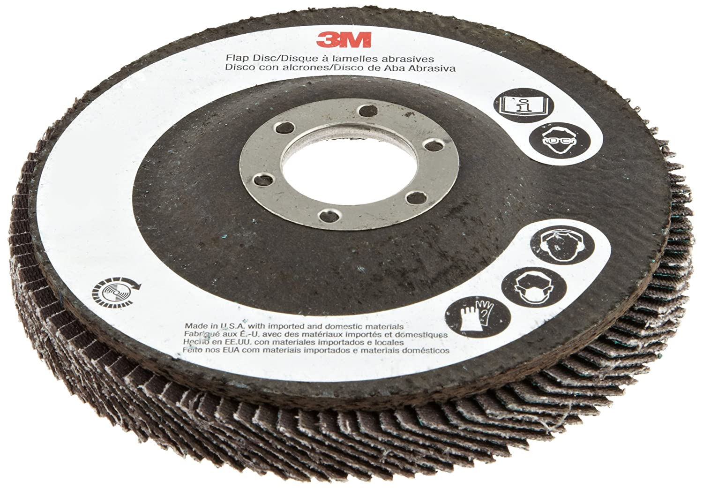 4-1//2 in x 7//8 in 60 Giant 3M Flap Disc 577F T27
