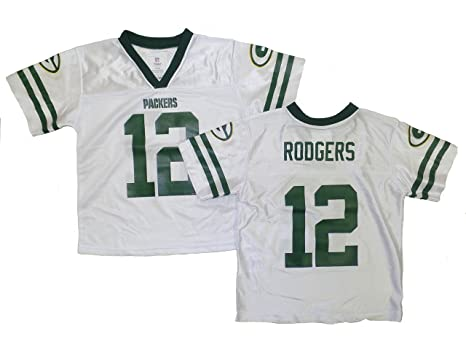 5321c901 Amazon.com : Outerstuff Aaron Rodgers Green Bay Packers White Youth ...