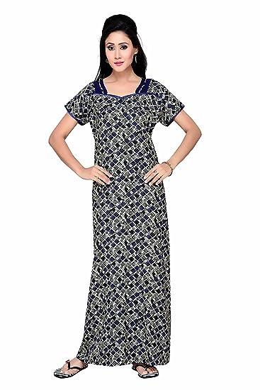 adbe92506c278 SOULEMO : ALPINE NIGHTY 249B_L BLUE&GREY: Amazon.in: Clothing ...