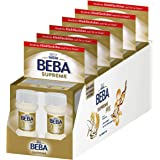 Nestlé BEBA SUPREME PRE Anfangsmilch: trinkfertige Portionsflaschen, hypo-allergene Säuglingsnahrung, mit Omega 3, 6er Pack (2 x 70 ml)